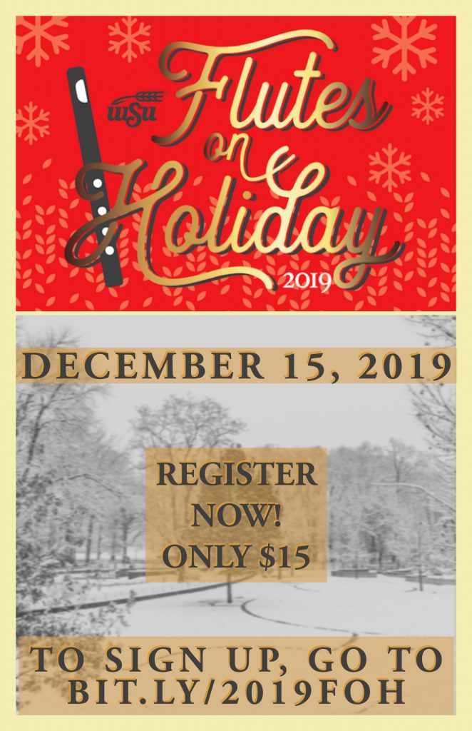 Flutes on Holiday 2019 Poster
